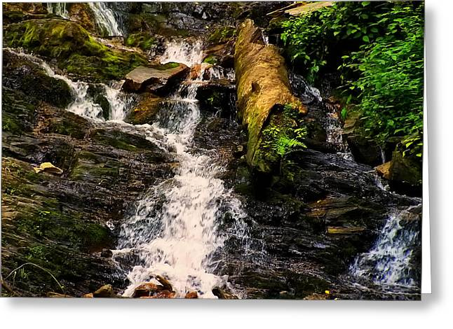 Mingo Falls 3 Greeting Card