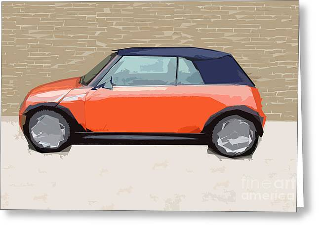 Mini Makeover Greeting Card by Bruce Stanfield