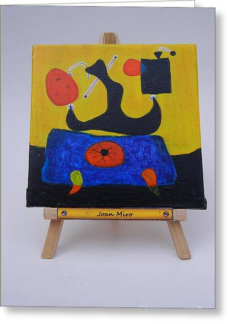 Mini Miro Greeting Card