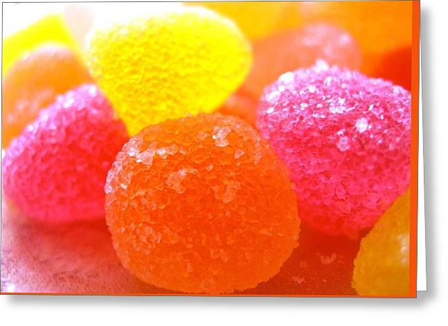 Mini Sugar Fruits Greeting Card