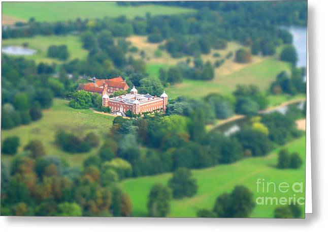 Miniature Manor House Greeting Card
