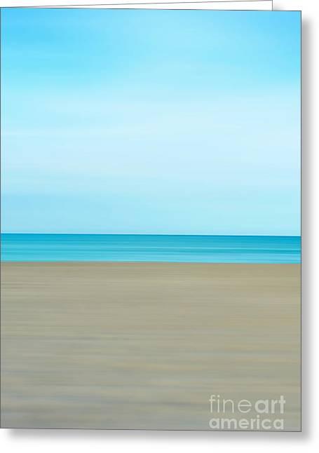Minimalist Beach Greeting Card
