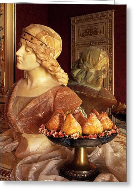 Minne Di Vergine, Virgin Tits Cakes Greeting Card by Nico Tondini