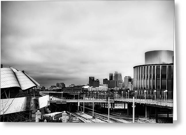 Minneapolis From The University Of Minnesota Greeting Card