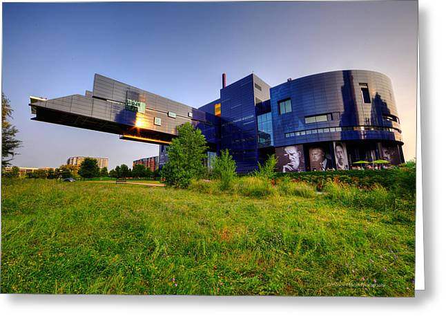 Minneapolis Guthrie Theater Summer Evening Greeting Card