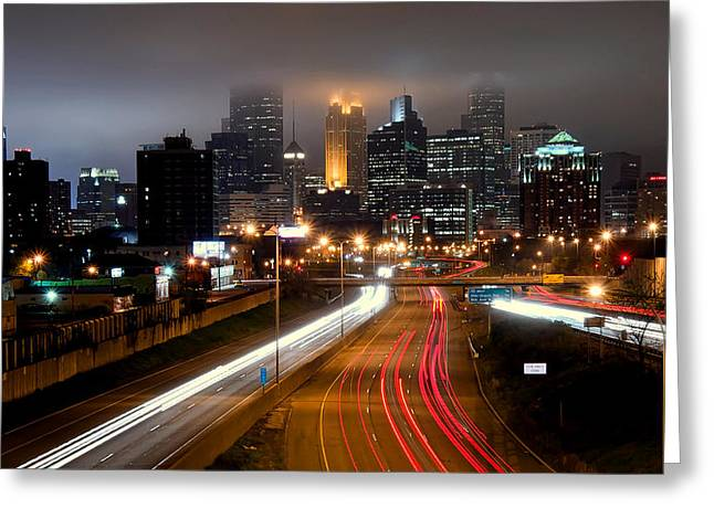 Greeting Card featuring the photograph Minneapolis Skyline Mn by RC Pics