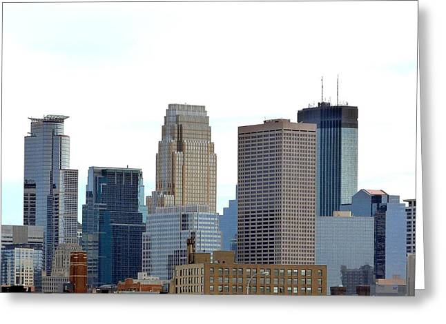 Greeting Card featuring the photograph Minneapolis by Will Borden