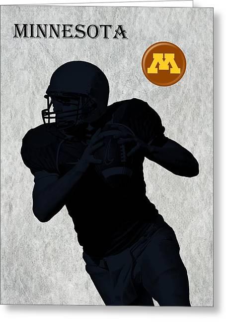 Minnesota Football Greeting Card