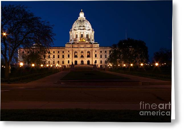Minnesota State Capitol Greeting Card by Kevin Jack
