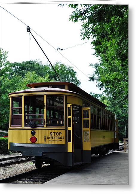 Minnesota Streetcar Museum Greeting Card