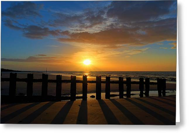 Minnis Bay Sunset Greeting Card