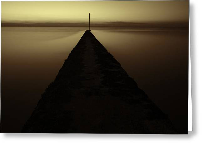 Minnis Bay Tranquility Greeting Card