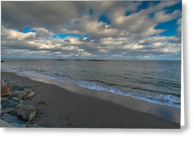 Minot Beach Greeting Card by Brian MacLean