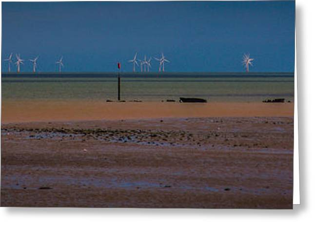 Minster Isle Of Sheppey Greeting Card by Dawn OConnor