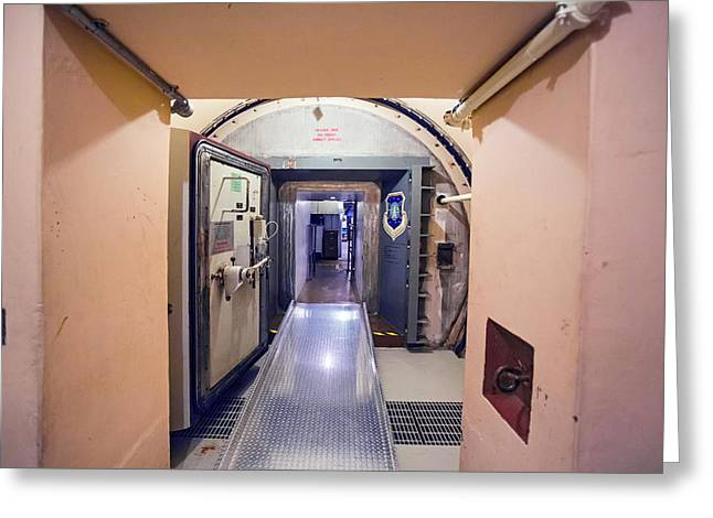 Minuteman Missile Control Facility Greeting Card