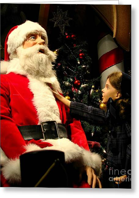 Miracle On 34th Street Greeting Card