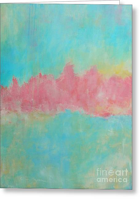 Mirage Greeting Card by Kate Marion Lapierre