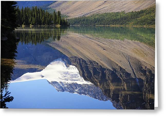 Mirror Lake Banff National Park Canada Greeting Card