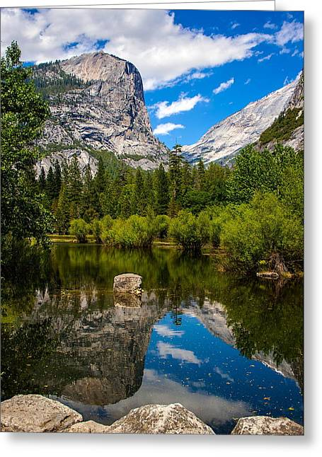 Mirror Lake Greeting Card