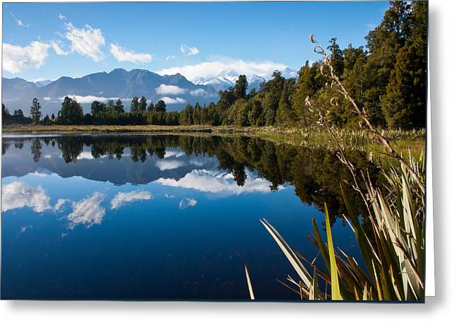 Mirror Landscapes Greeting Card
