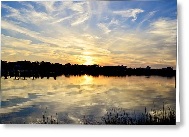 Mirror-mirror Greeting Card by Elbe Photography