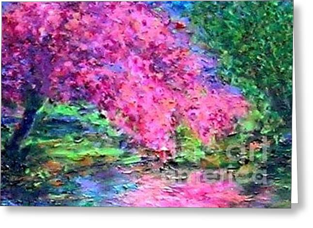 Mirror Mirror Mirror On The River Tell Me Who Is The Prettiest Tree Greeting Card