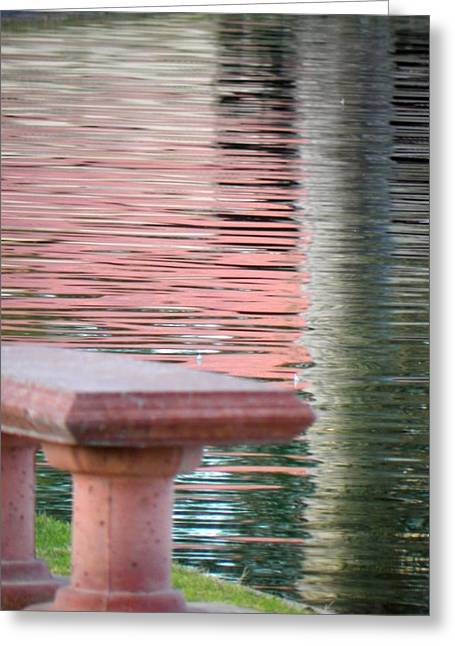 Greeting Card featuring the photograph Mirror To The Soul by Deb Halloran