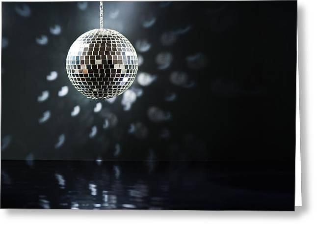 Mirrorball Greeting Card by Ulrich Schade