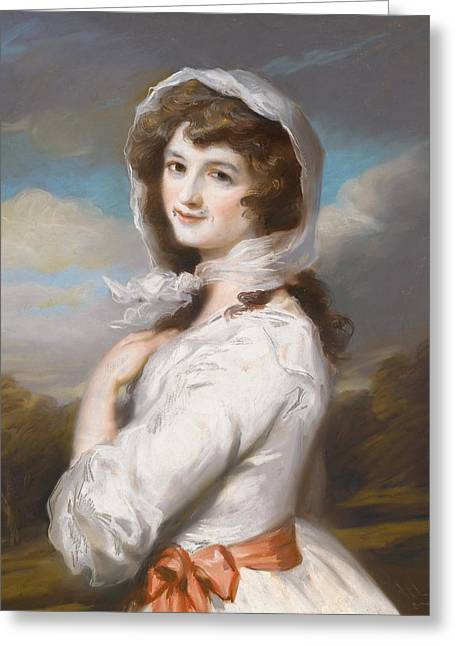 Miss Adelaide Paine Greeting Card by William Hamilton