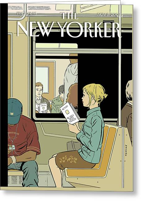 Missed Connection Greeting Card by Adrian Tomine