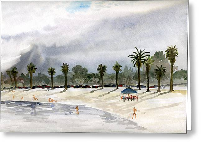 Mission Bay 2 Greeting Card
