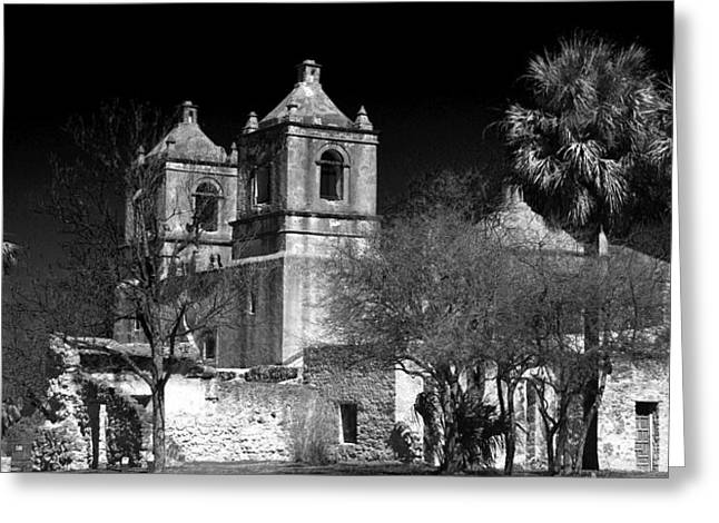 Mission Concepcion Greeting Card by Brian Kerls