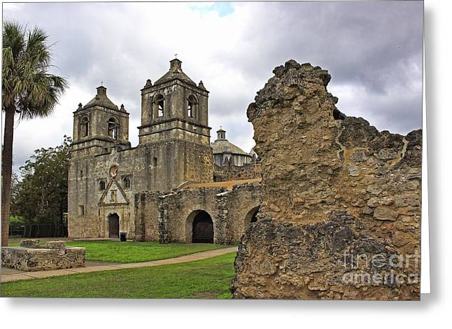 Mission Concepcion Greeting Card