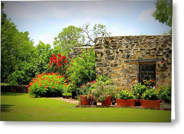Mission Espada - Garden Greeting Card