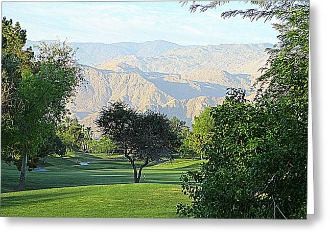 Mission Hills Golf Greeting Card
