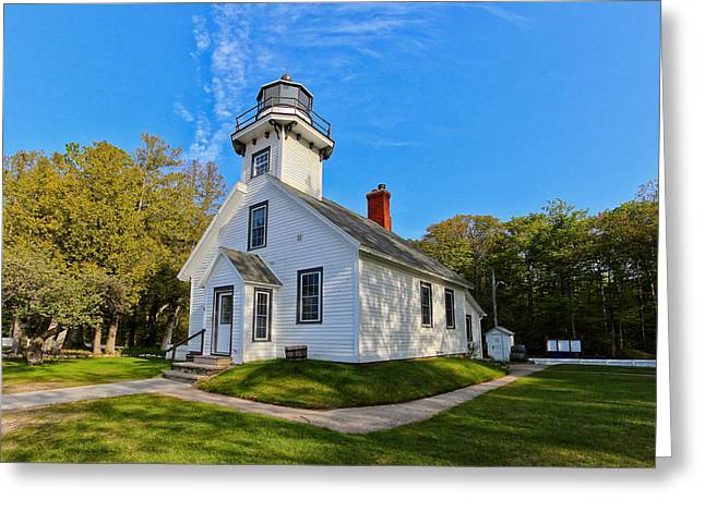 Mission Point Lighthouse 1 Greeting Card