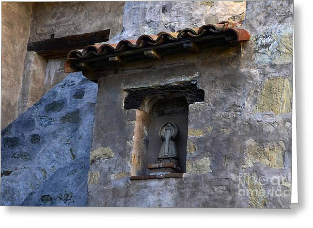 Mission San Carlos Borromeo De Carmelo 3 Greeting Card