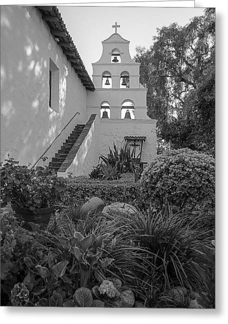 Mission San Diego De Alcala II Greeting Card by Sonny Marcyan