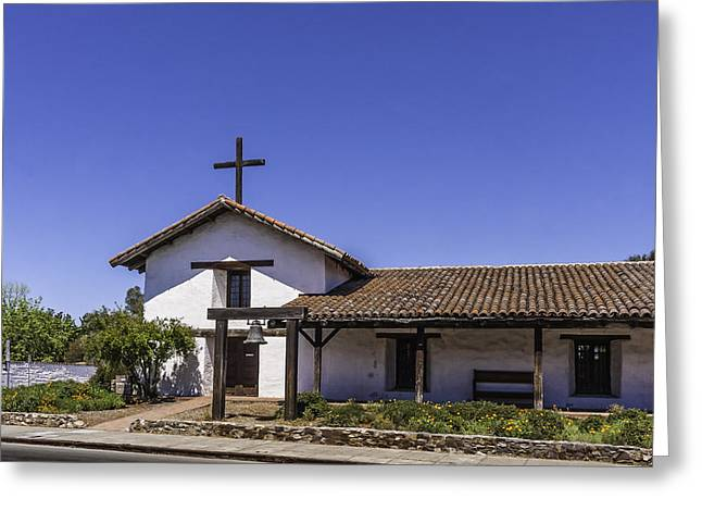 Mission San Francisco Solano Greeting Card by Karen Stephenson