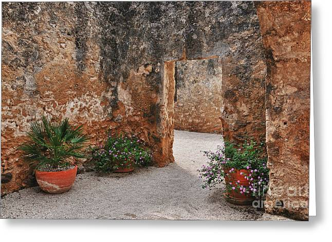 Greeting Card featuring the photograph Mission San Jose At San Antonio Texas by Gerlinde Keating - Galleria GK Keating Associates Inc