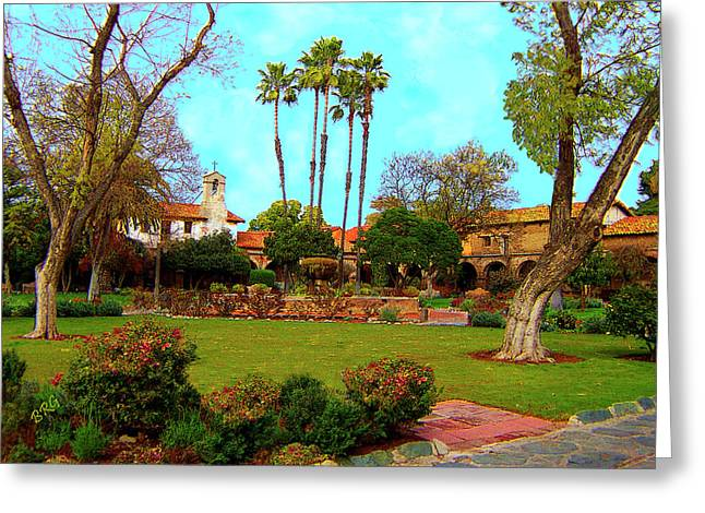 Mission San Juan Capistrano No 11 Greeting Card
