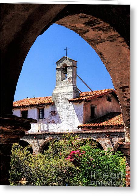 Mission San Juan Capistrano Greeting Card