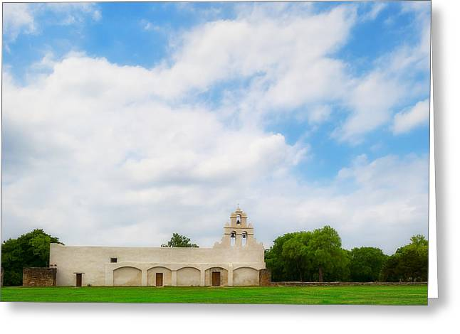 Mission San Juan Capistrano - Texas Greeting Card by Ryan Manuel