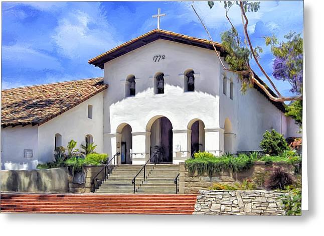 Mission San Luis Obispo De Tolosa Greeting Card