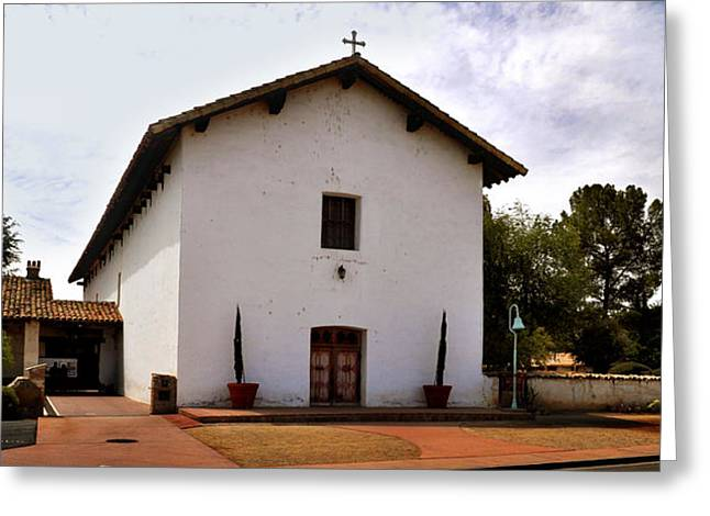 Mission San Miguel Chapel Greeting Card