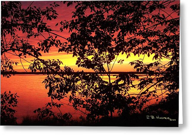 Missisquoi Sunset Greeting Card