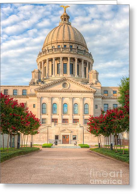Mississippi State Capitol V Greeting Card