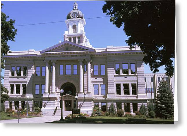 Missoula County Courthouse, Missoula Greeting Card