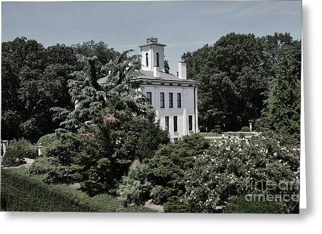 Missouri Botanical Garden-shaw Home Greeting Card by Luther Fine Art
