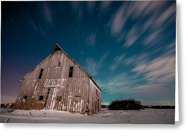 Missouri Nightfall Greeting Card by Ryan Heffron